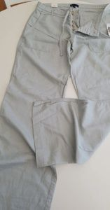 GAP Linen Button Fly Pants